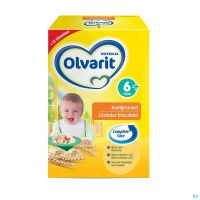 Olvarit Cereales Biscuitees 600 G