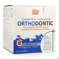 Fittydent Orthodontic Set Nettoyage + Comp Eff. 32