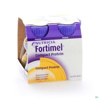 Fortimel Compact Protein Banane 125 Ml 4 Pièces