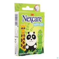 Nexcare 3m Happy Kids Animaux Pans 20 N0920an