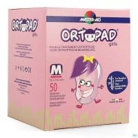 Ortopad Girls Medium Compresses Oculaires 50 Pièces