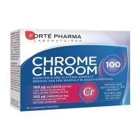 Chrome 100 Forte Pharma  30 Comprimés