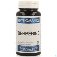 Berberine Caps 60 Physiomance Phy312b