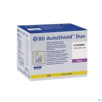 Bd Autoshield Aiguille Stylo Duo 5mm 100 329605
