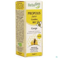Herbalgem Propolis Junior Bio Flacon Gouttes 15ml
