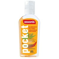 Assanis Gel Mains Exotic Mango 80 Ml