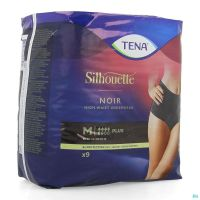 Tena silhouette plus noir high waist m 9    703081