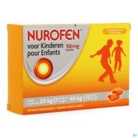 Nurofen Enfant 100mg Caps Molles A Macher 24