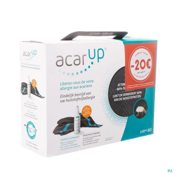 Acar Up Kit Familypack (2 X 100ml + 2 Supports)