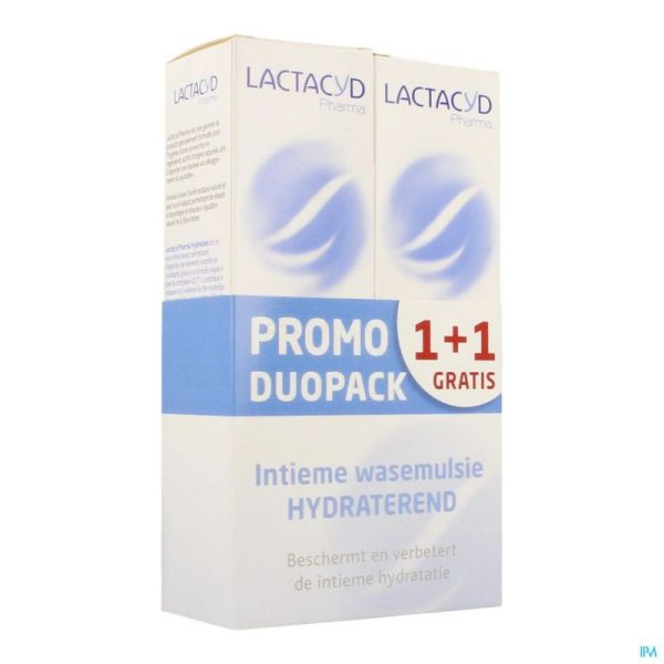 Lactacyd Pharma Hydra 1+1 250 Ml