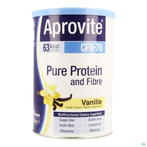 Aprovite Cfx70 Protein Vanille Pdr 300g 15 Shakes