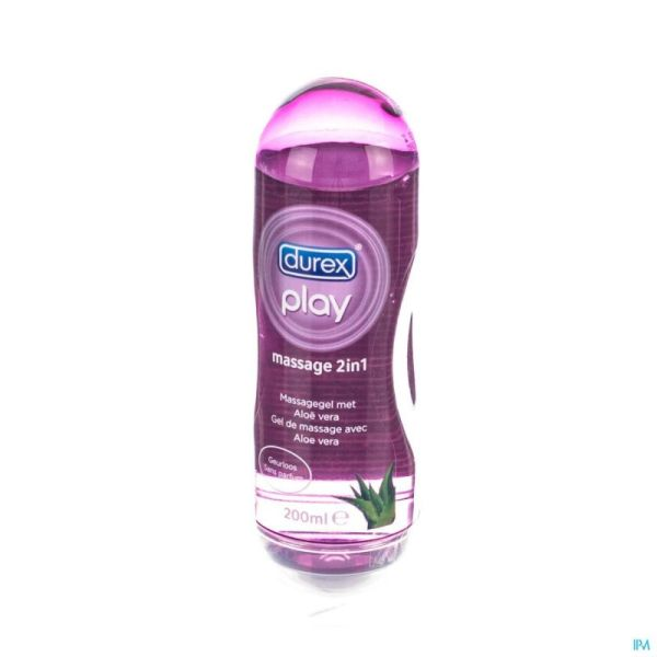 Durex Play Gel Massage Aloe Vera 200 Ml