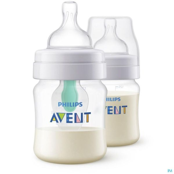 Philips Avent A/colic Biberon Duo 2x125ml SCF810/24