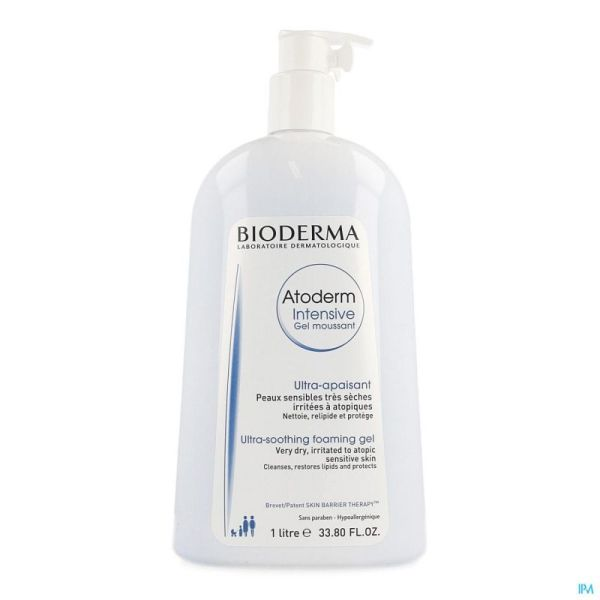 Bioderma Atoderm Intensive Gel Moussant Nf 1l