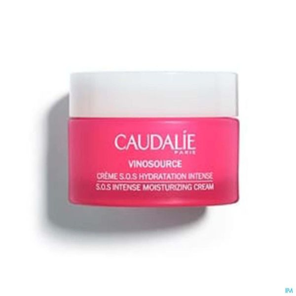 Caudalie Vinosource Crème Sos Hydratante Intense 50ml