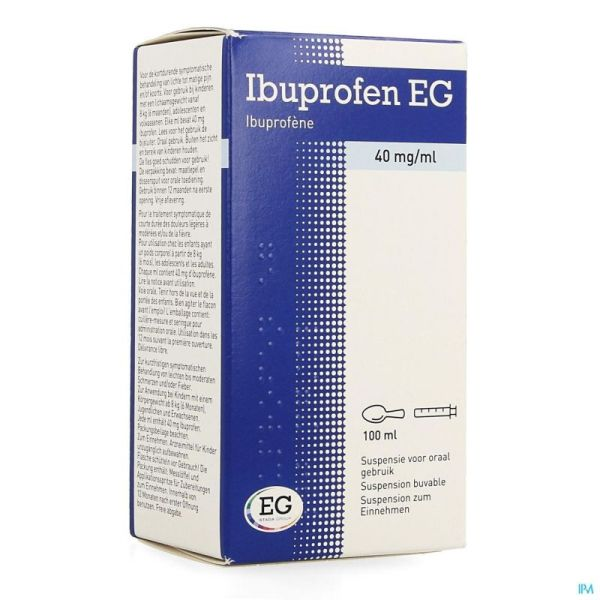 Ibuprofen E.g. 40 Mg/ml Susp 100 Mg