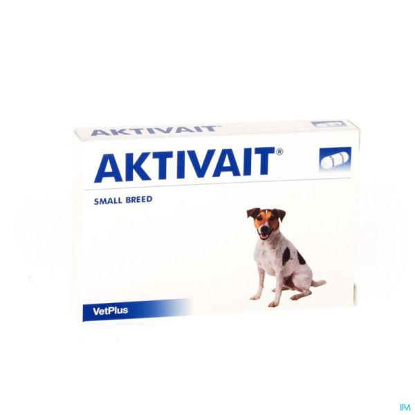 Aktivait Small Breed Blister 60 Gélules
