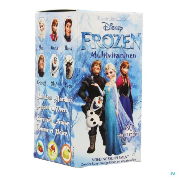 Disney Multivitamines Frozen 60 Gélules
