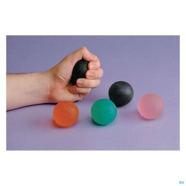 Balle Exercice Gel Doigts-main Extra Mou Rose