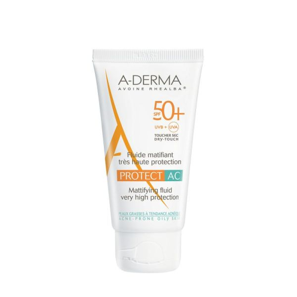 Aderma Solaire Protect Ac Spf50+ 40 Ml