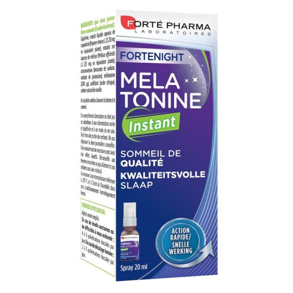 Fortenight Melatonine Instant Spray 20 ml