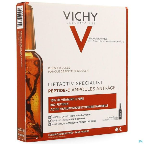 Vichy Liftactiv Ampoules 10x1,8ml
