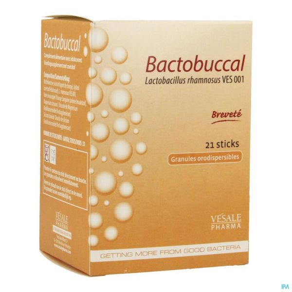 Bactobuccal 21 Sticks