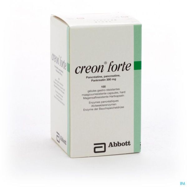 Creon Forte 100 Gélules 300 Mg