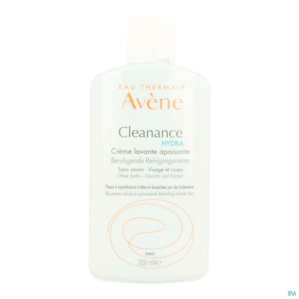 Avene Cleanance Hydra Cr Lavante Apais. Nf 200ml