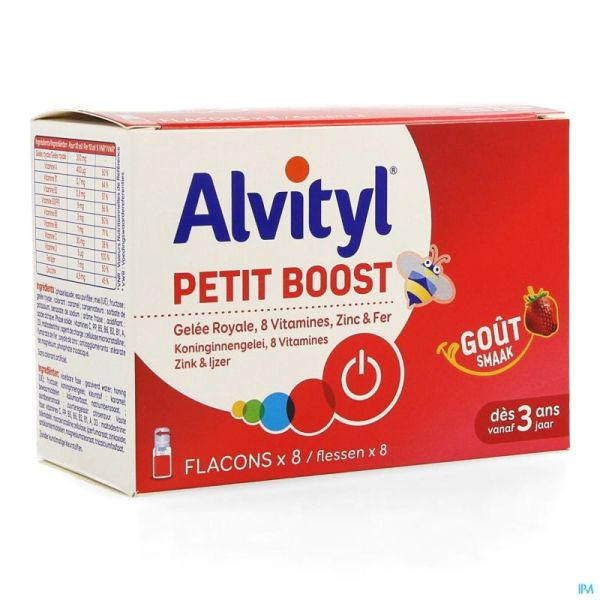 Alvityl Petit Boost 8x10 Ml