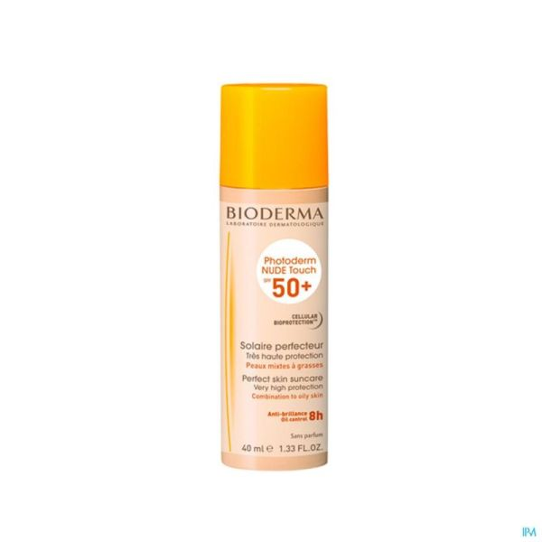 Bioderma Photoderm Nude Touch Ip50+ Naturelle 40ml