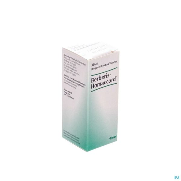 Heel Berberis Ha Gouttes 30 Ml