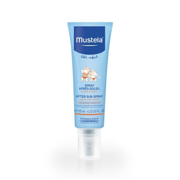 Mustela Bébé After Sun Spray Hydratant 125 Ml