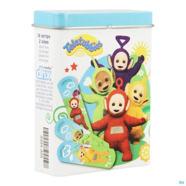 Dermocare Teletubbies Pansement 18 Pc