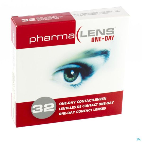 Pharmalens Lentilles One Day S -7,00 32