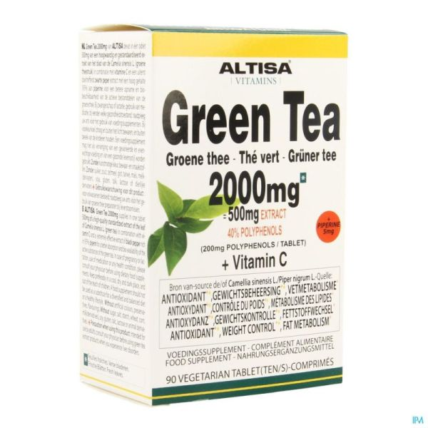 Altisa The Vert 2000mg (500mg Extrait) Comp 90