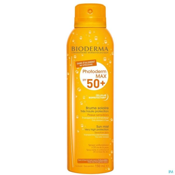 Bioderma Photoderm Max Brume Solaire Ip50+ 150ml