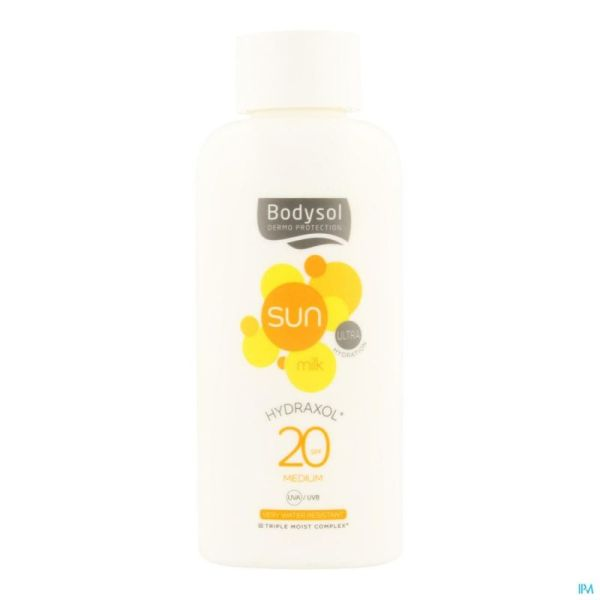 Bodysol Sunmilk Hydraxol Ip20 200ml