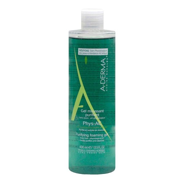 Gel moussant purifiant Phys-Ac 400ml