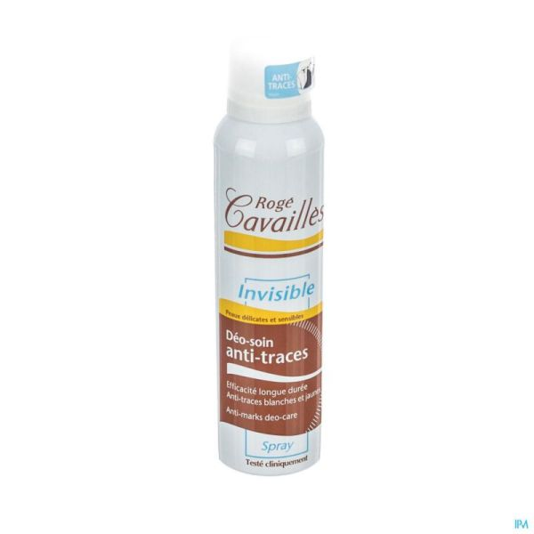 Roge Cavailles Déodorant Spray Invisible 150
