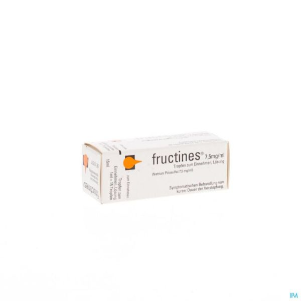 Fructines Gouttes Orale 15 Ml