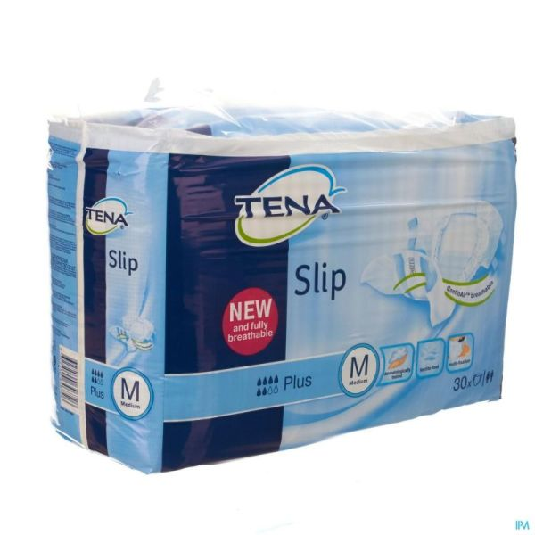 Tena Slip Plus Breath Medium 710630 30 P