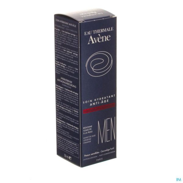 Avène Homme Soin hydratant Anti-âge 50 Ml