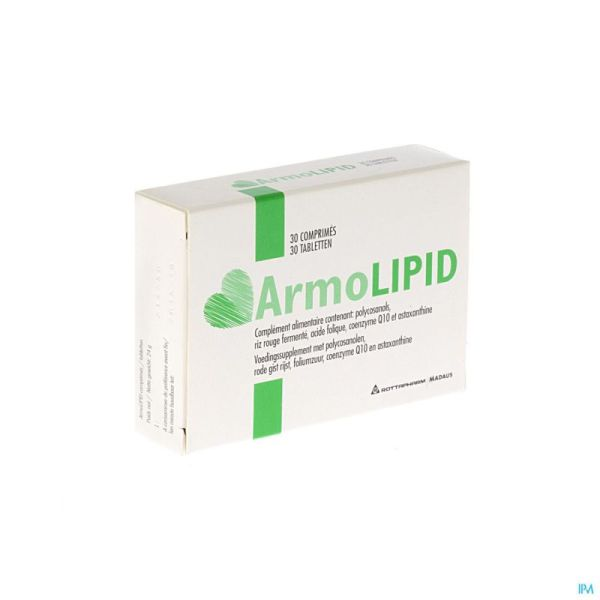 Armolipid 30 Comprimés