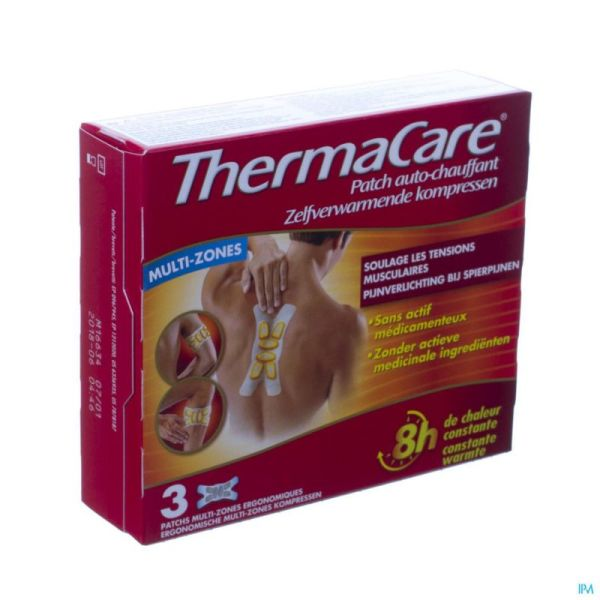 Thermacare Multi-zones 3 Wraps
